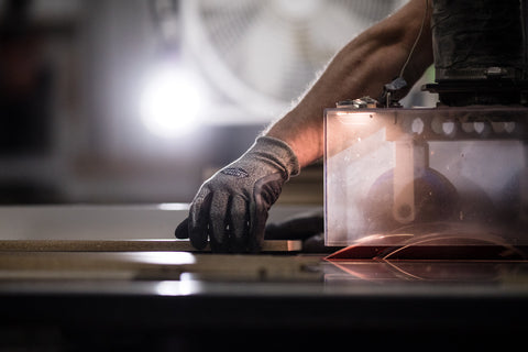 Safety and precision are cornerstones of our fabrication stations.