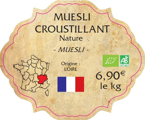 MUESLI CROUSTILLANT NATURE