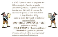 HUILE D'OLIVE EXTRA VIERGE & BOUTEILLE CONSIGNEE