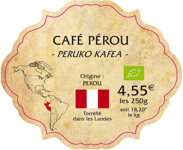 CAFE INTENSE PEROU