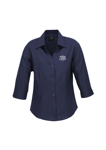 Ladies Oasis 3/4 Sleeve Shirt from $41.95