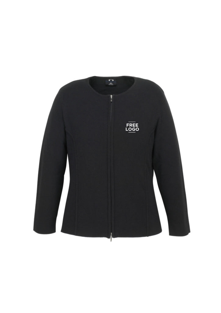 Ladies 2-Way Zip Cardigan from $73.95