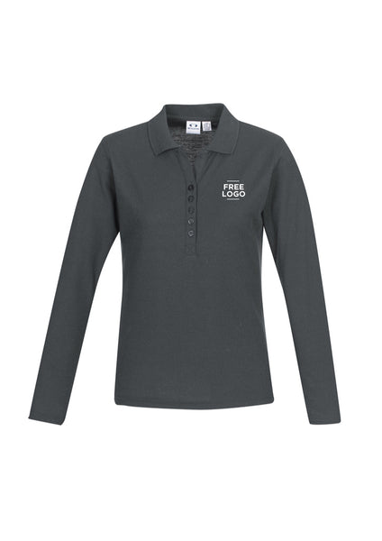 Crew Ladies Long Sleeve Polo from $26.95