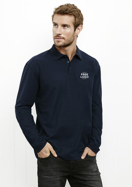 Crew Mens Long Sleeve Polo from $26.95