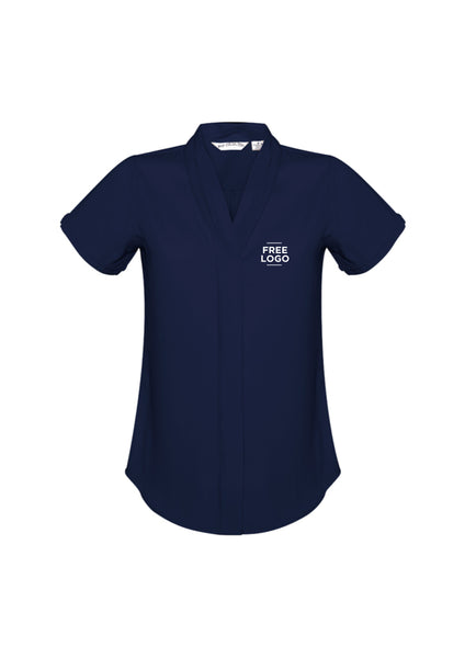Ladies Madison Short Sleeve Blouse from $53.95