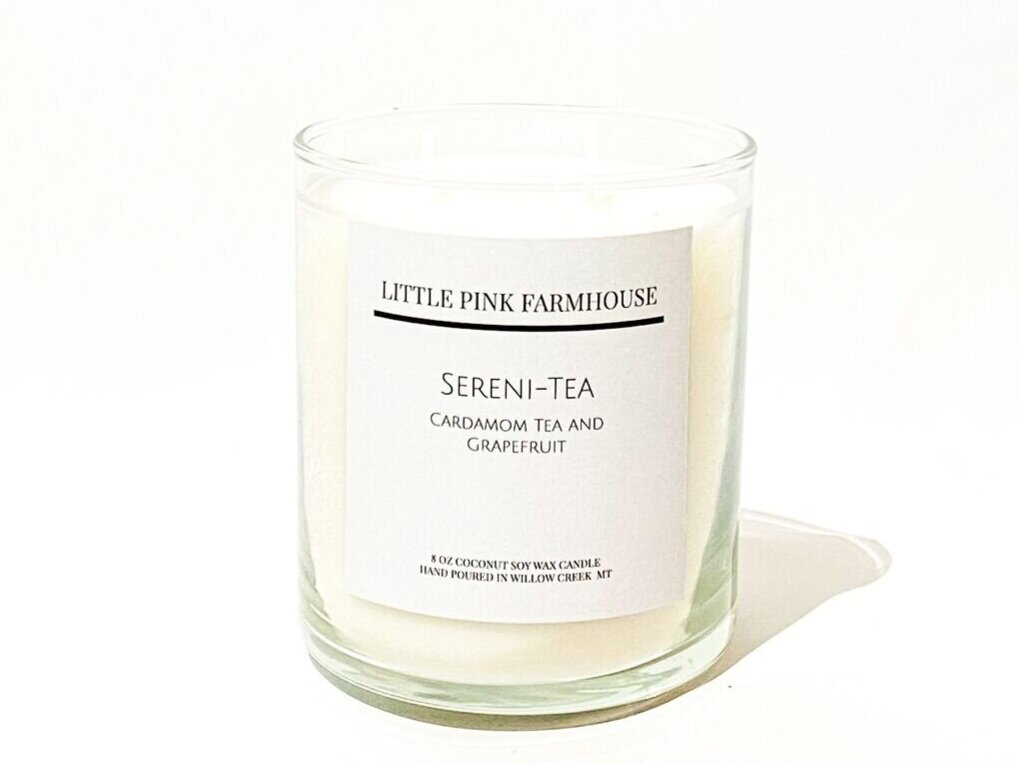 PINK FARM CANDLE