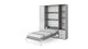 Wall Bed Invento Vertical Queen Size with cabinets