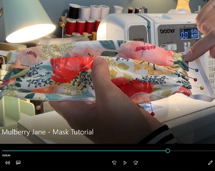 Sewing a Mask Tutorial
