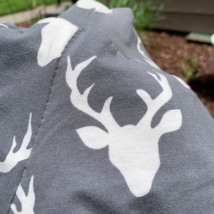 Grey Buck Shorts