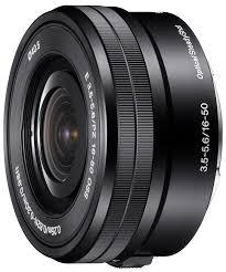 Sony E 16-50mm F3.5-5.6 PZ OSS Black