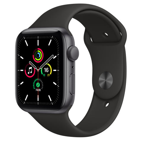 Apple Watch SE 44mm MYDT2 Space Gray Aluminium Black Sport Band