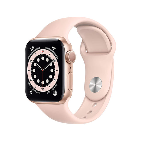 Apple Watch Series 6 40mm MG123 Gold Aluminium Pink Sand Sport Band