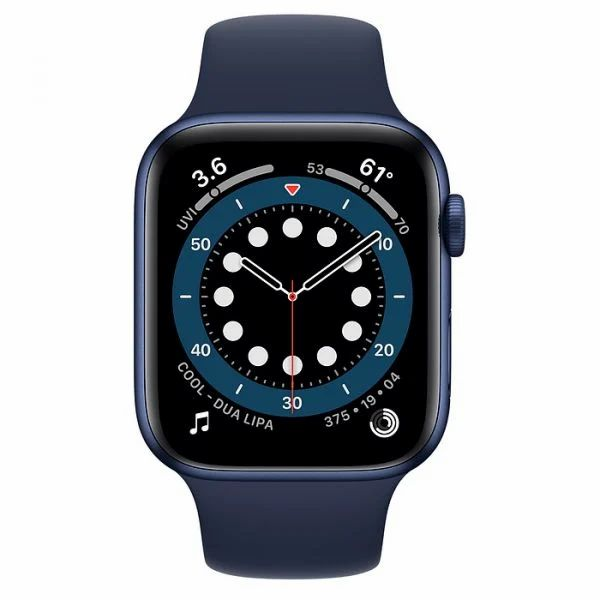 Apple Watch Series 6 40mm MG143 Blue Aluminium Deep Navy Sport Band