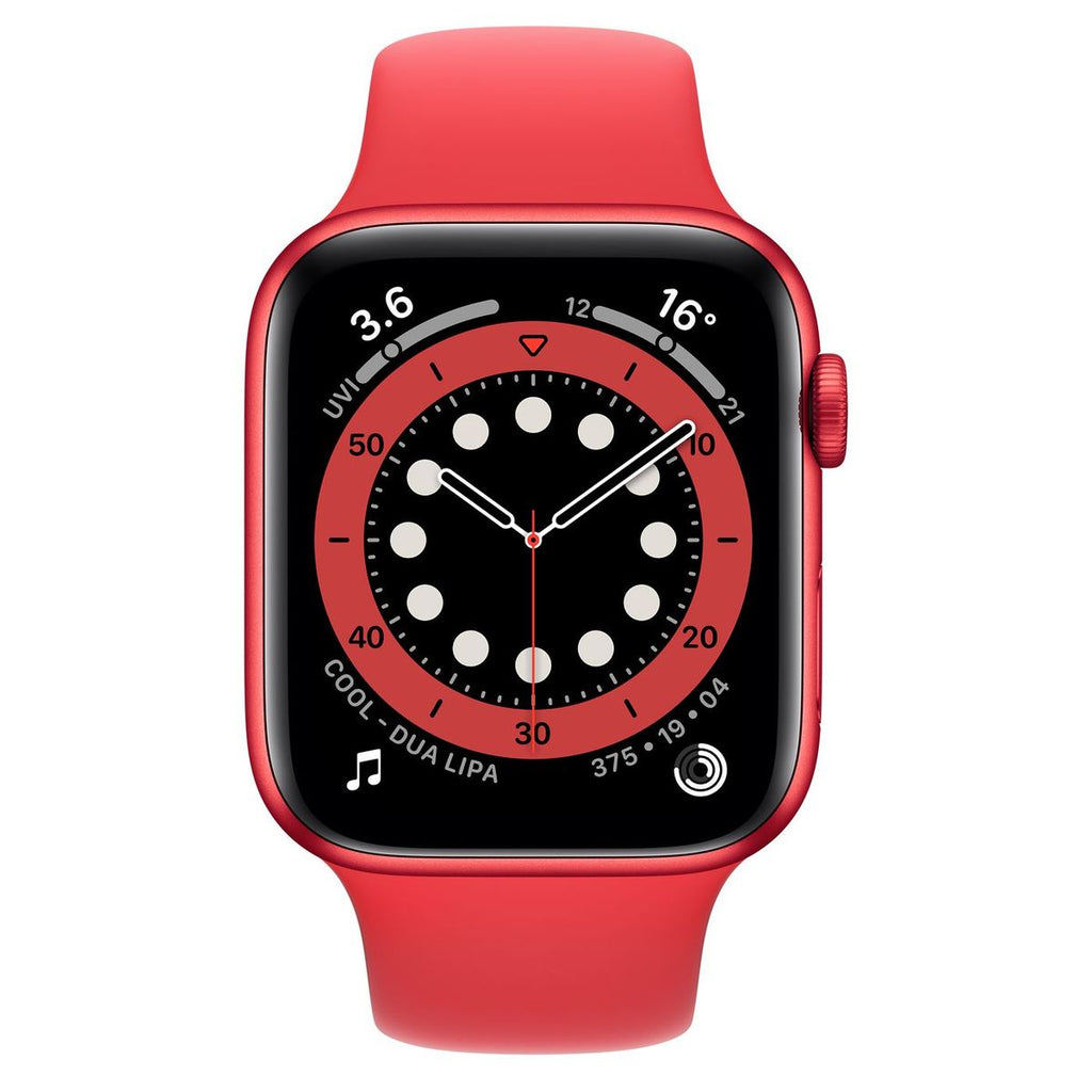 Apple Watch Series 6 44mm LTE M07K3, Product Red Aluminium Product Red Sport Band