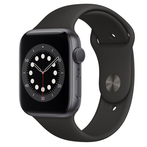 Apple Watch Series 6 44mm M00H3 Space Grey Aluminium Black Sport Band3950