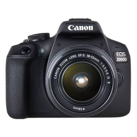 Canon EOS 2000D Kit (EF-S 18-55mm IS II) Black