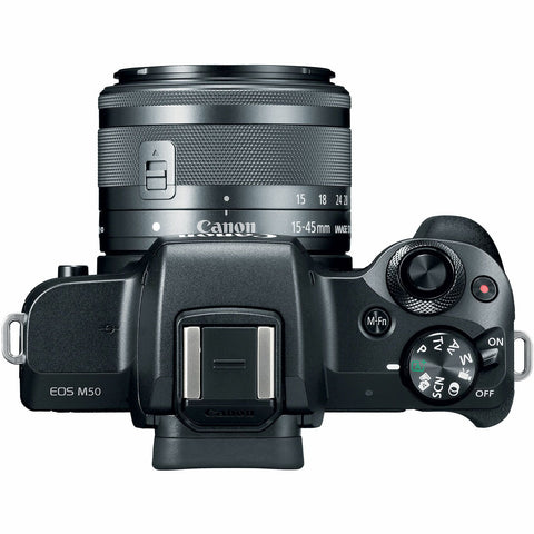 Canon EOS M50 Kit (15-45 STM) Black