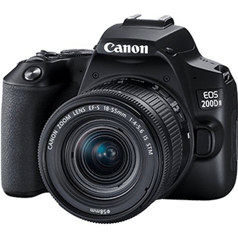 Canon EOS 200D Mark II Kit EF-S 18-55mm IS STM Black