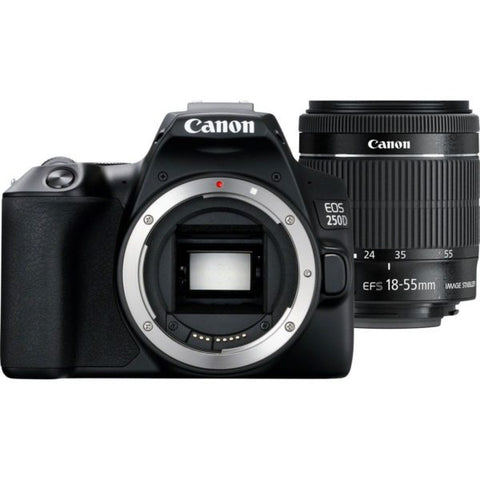 Canon EOS 250D Kit (EF-S 18-55mm DC III) (Black)