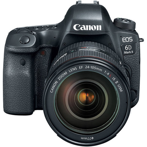 Canon EOS 6D Mark II Kit (24-105mm f/4L IS II USM Lens)