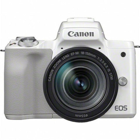 Canon EOS M50 White Kit (EF-M 18-150mm STM Silver)