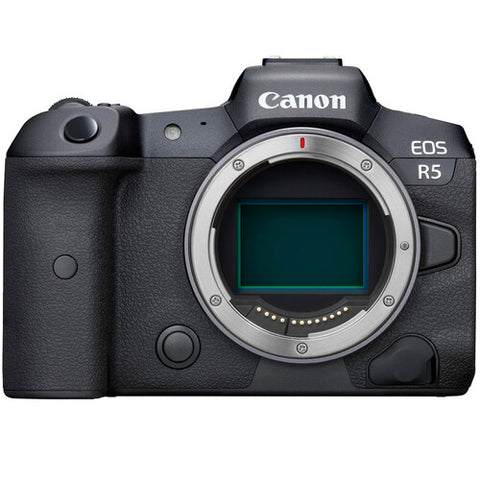 Canon EOS R5 Body With R Mount Adapter