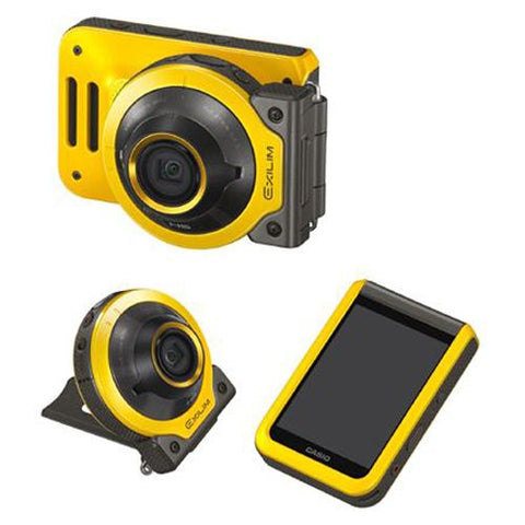 Casio Exilim EX-FR100 Yellow