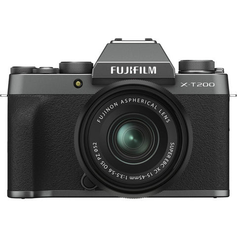 Fujifilm X-T200 Kit with 15-45mm (Dark Silver)