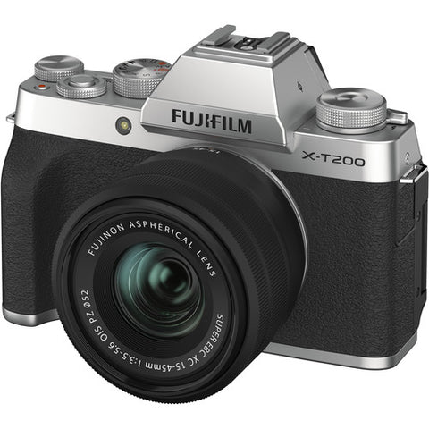 Fujifilm X-T200 Kit with 15-45mm (Silver)