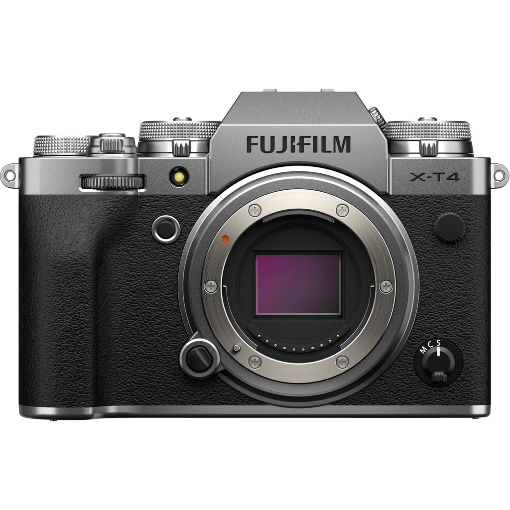 Fujifilm X-T4 Kit with 18-55mm (Silver)