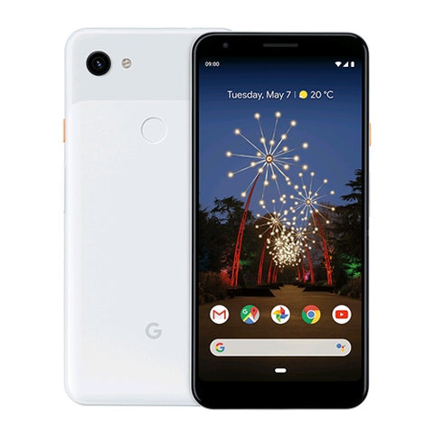 Google Pixel 3A XL G020C 64GB 4GB (RAM) Clearly White