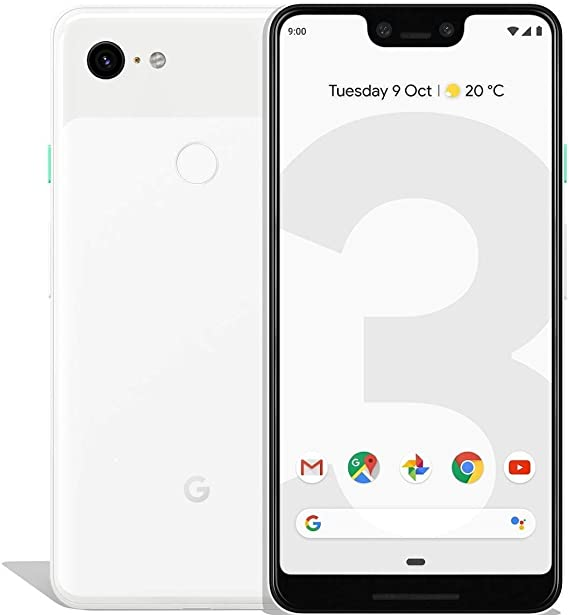 Google Pixel 3 XL G013C 64GB Clearly White
