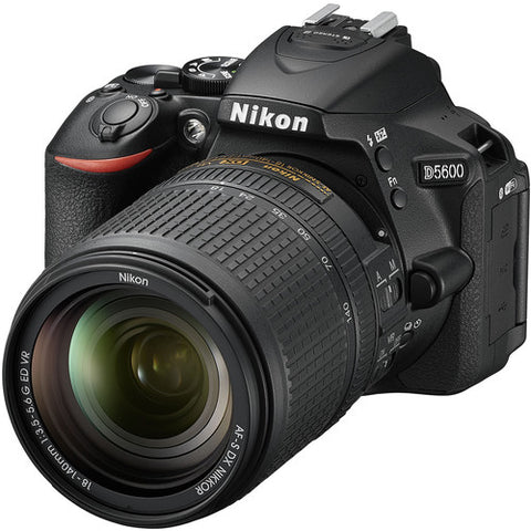 Nikon D5600 Kit (AF-S 18-140mm VR) Black