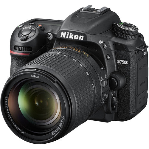 Nikon D7500 Kit with 18-140mm (Black)