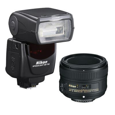 Nikon Portrait Kit with AF-S 50mm f1.8G and SB700 Flash
