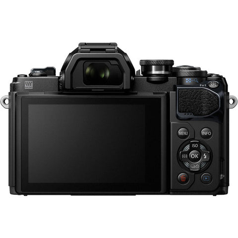 Olympus OM-D E-M10 Mark III Kit (14-42mm EZ Lens) Black