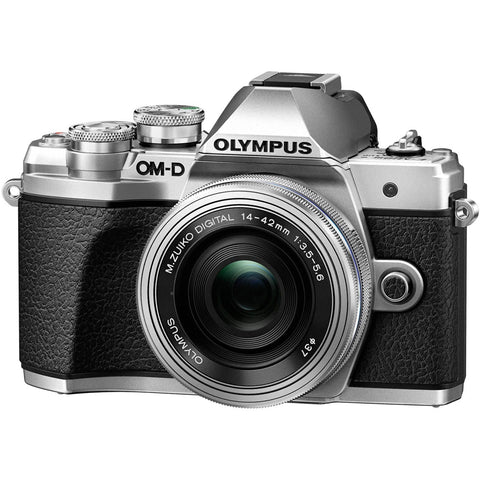 Olympus OM-D E-M10 Mark III Kit (14-42mm EZ Lens) Silver