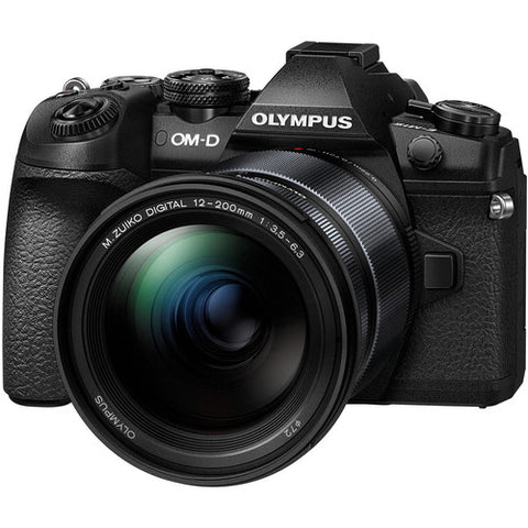 Olympus OM-D E-M1 Mark II Kit (12-200mm F/3.5-6.3) Black