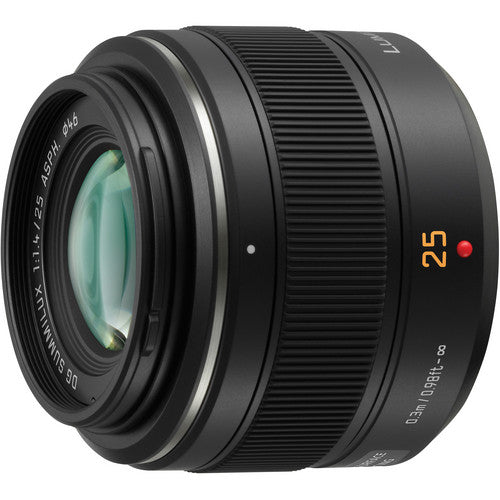 Panasonic Leica Summilux 25mm F/1.4 DG ASPH Black (HX025)