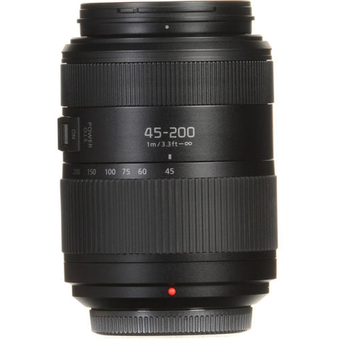 Panasonic Lumix G Vario 45-200mm f/4-5.6 II POWER O.I.S. Lens (HFSA45200E)