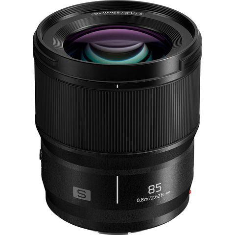 Panasonic Lumix S 85mm f/1.8 (S-S85) (Black)