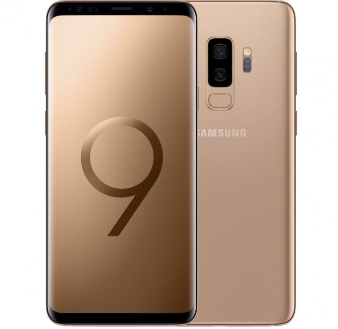 Samsung Galaxy S9 G960F DS 256GB 4GB (RAM) Sunrise Gold