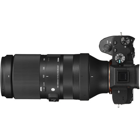 Sigma 100-400mm f/5-6.3 DG DN OS Contemporary Lens (Sony E)