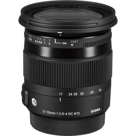 Sigma 17-70mm F2.8-4 Contemporary DC Macro (Canon)