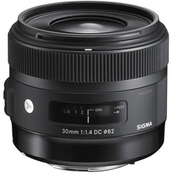 Sigma 30mm F1.4 DC HSM - ART (Canon)