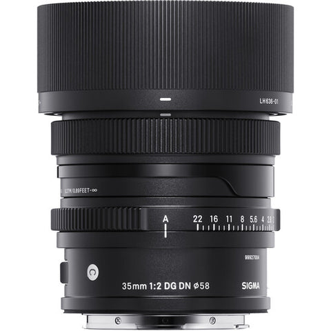 Sigma 35mm F2 DG DN Contemporary Lens (Sony E)