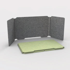 Desk Cubby Acoustic Screen - Desk Screen _ Acoustic Office