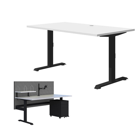 Alpine II Office Desk - Gaming Desk - Home Office Desk