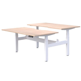 Alpine II - Height adjustable desk / back to back (2 person)