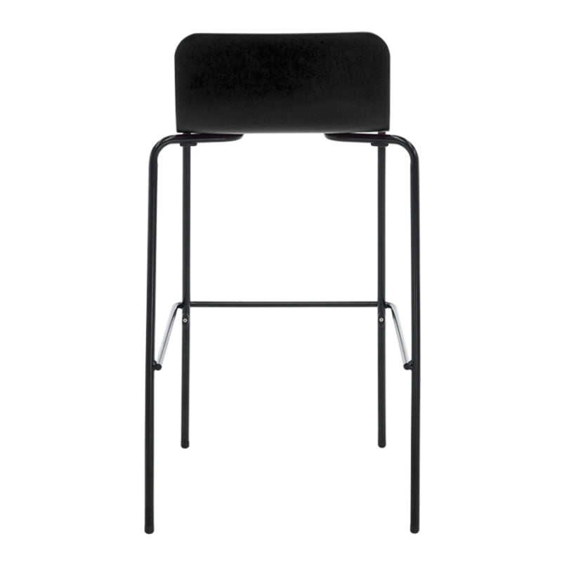 Flo Barstool - Stacking Stool - Kitchen Leaner Stool Trolley black